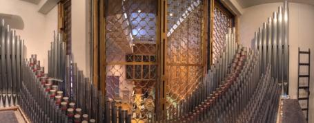 Immanuel Lutheran Pipe Organ Balcony, Albuquerque