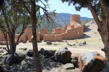 Jemez Historic Pueblo site where the Spanish built a 17th century mission church - Evelyn Henson