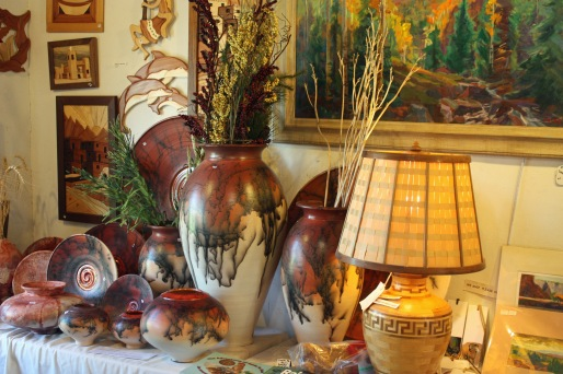 Local pottery and arts, Madrid, NM - Evelyn Henson