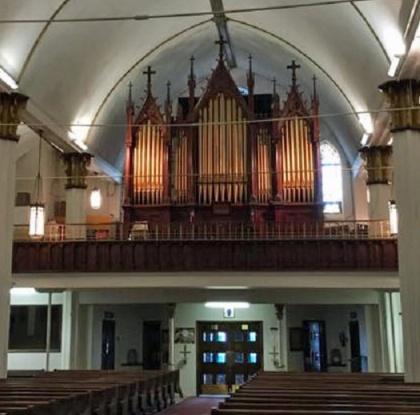 David Beatty - .Our Lady of Sorrows, Las Vegas NM. Historic George Kilgens organ.