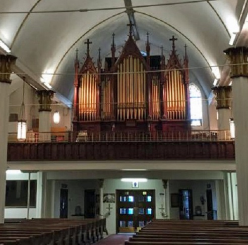 Historic organ in Las Vegas, NM