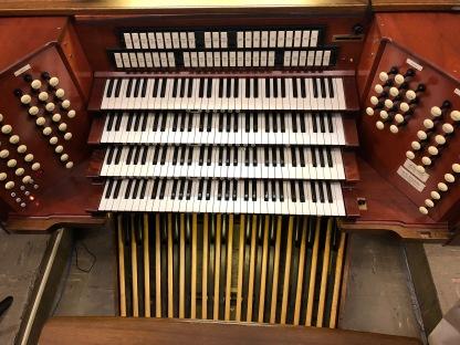 Console, First Presbyterian, ABQ