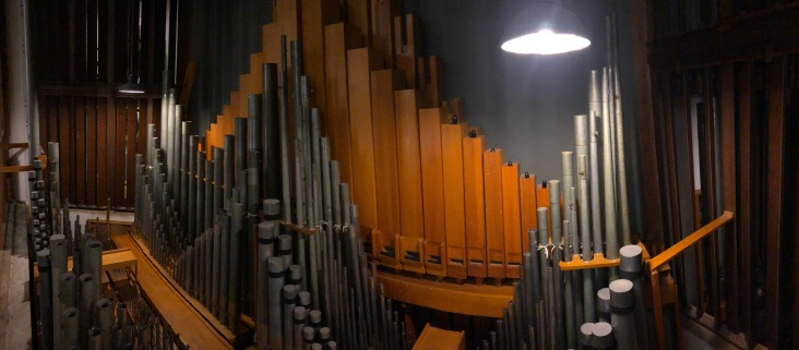Organ Pipes - First Presbyterian Church, Albuquerque
