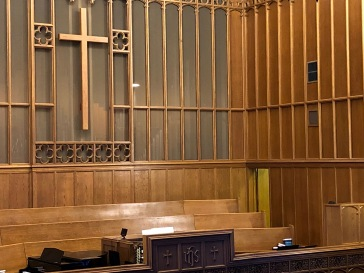 First Presbyterian Church Organ Loft, ABQ
