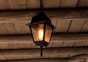 Lamp in old town Albuquerque (Enchanted Dreams photo)