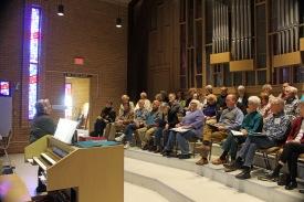 Nancy Granert explained the program before beginning